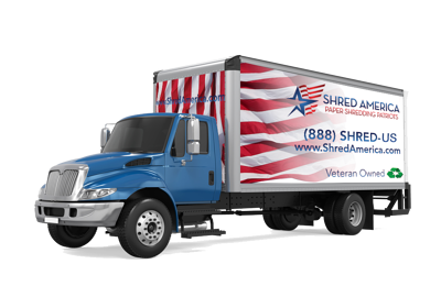 Shred America Mobile Shredding Truck Pittsburgh PA