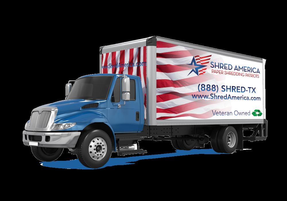 Shred America Truck